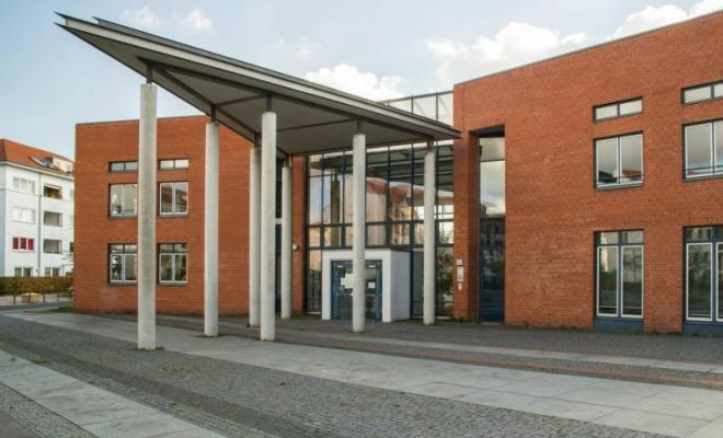 Foto vom Haupteingang